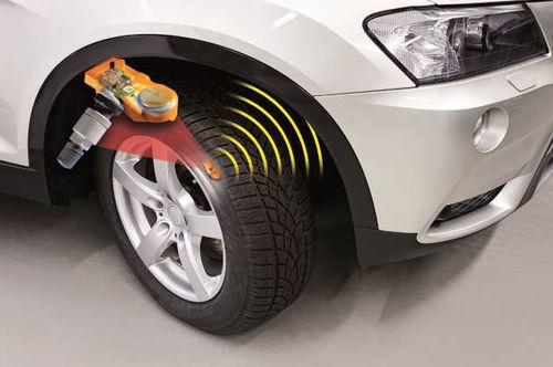 Система контроля давления шин