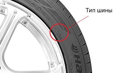 Определение типа шины