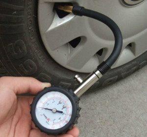 Измерения давления в шине