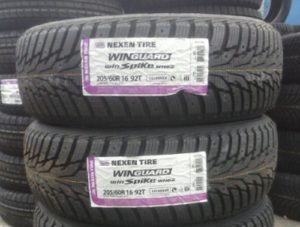 Зимние шины Nexen Winguard WinSpike WH62 205/60 R16