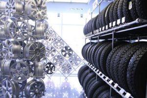 Магазин шин для автомобиля