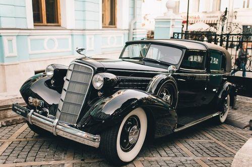 Авто в стиле ретро