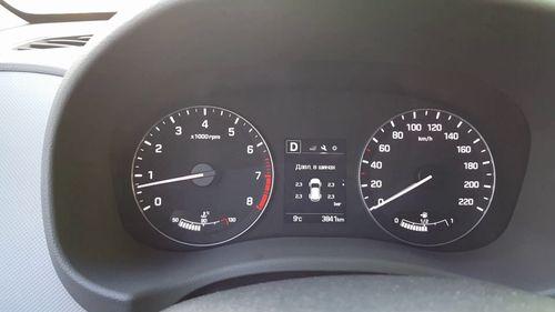 Индикатор давления в шинах