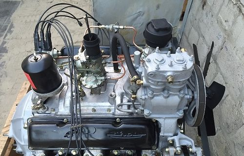 Доработанная версиия двигателя ЗИЛ-130